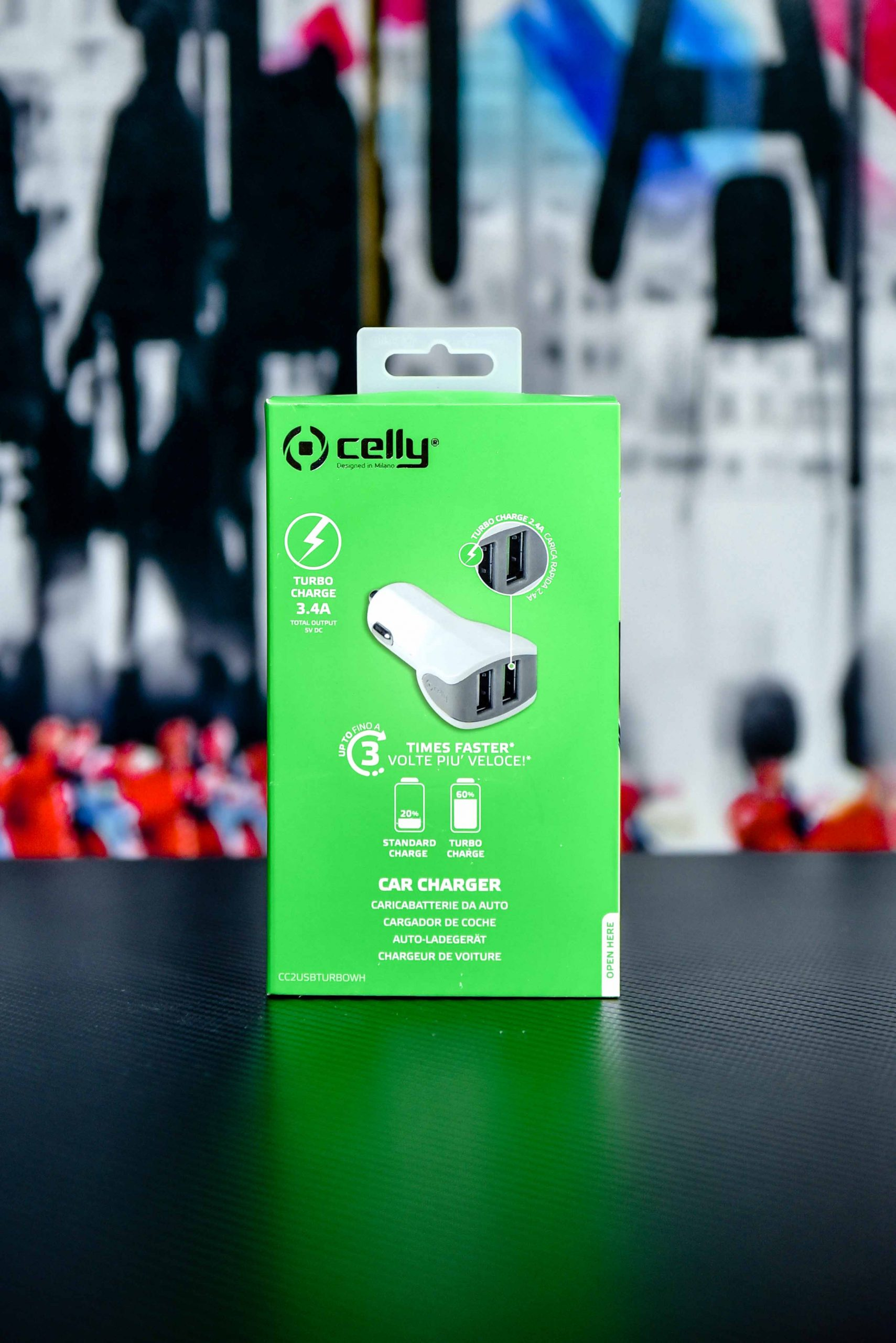 Celly Car mobile Charger in Qatar