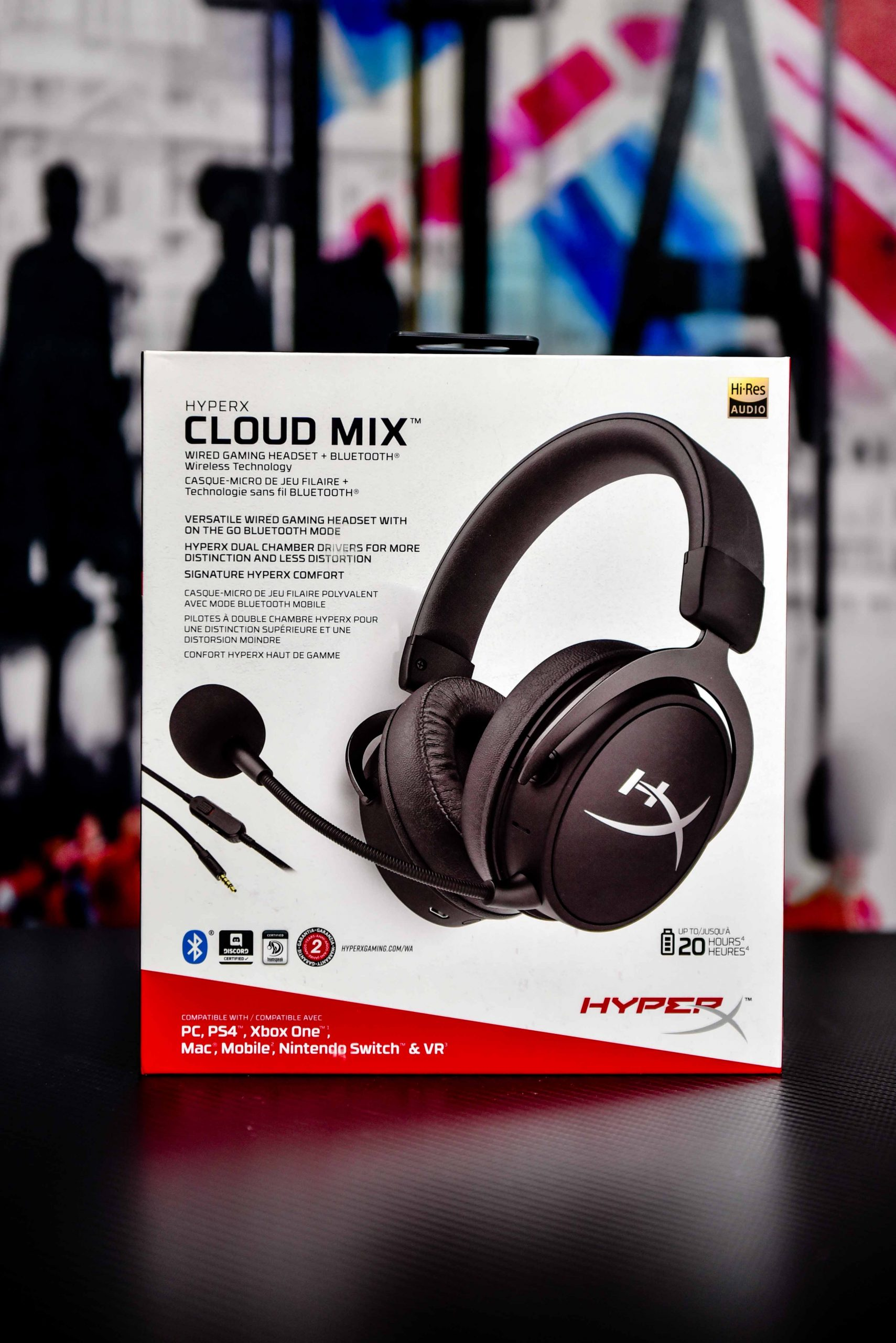 HYPERX CLOUD MIX -Wire & Bluetooth Gaming Headset in Qatar