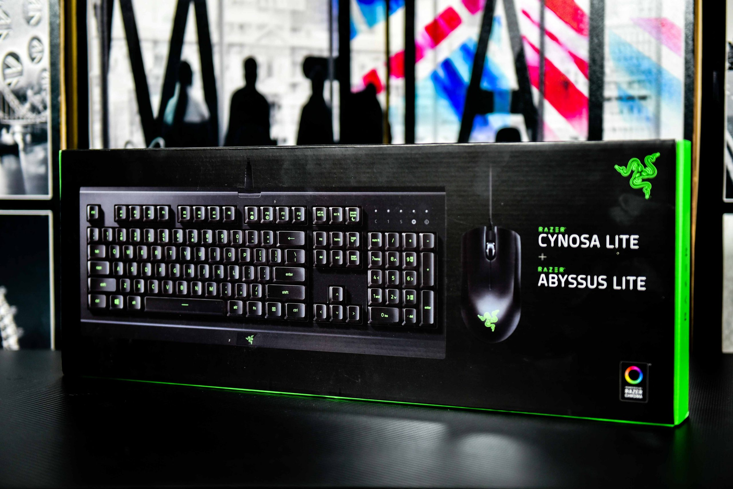 Razer Cynosa Lite Gaming Keyboard & Abysses Lite Gaming Mouse in Qatar