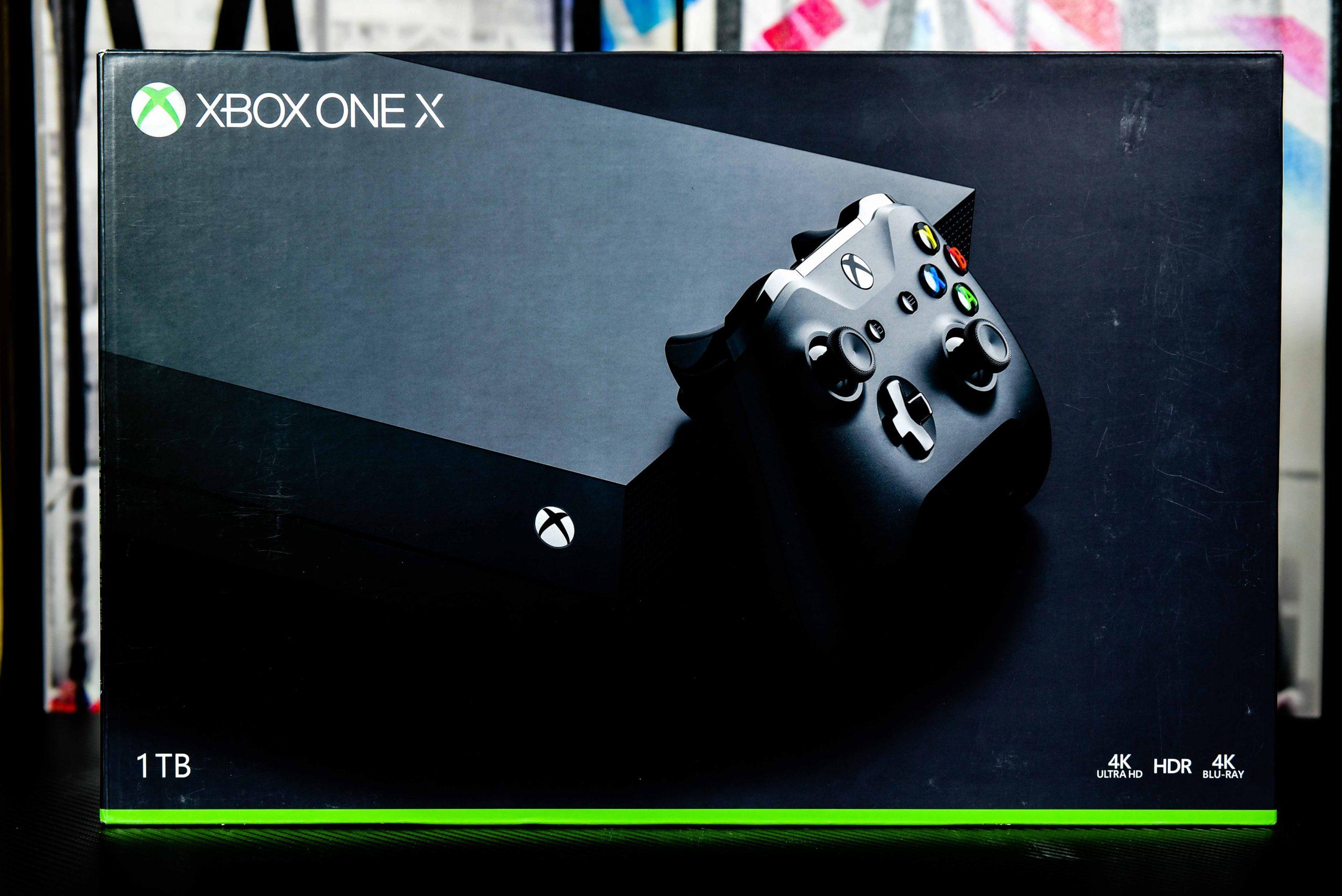 XBOX one X in Qatar