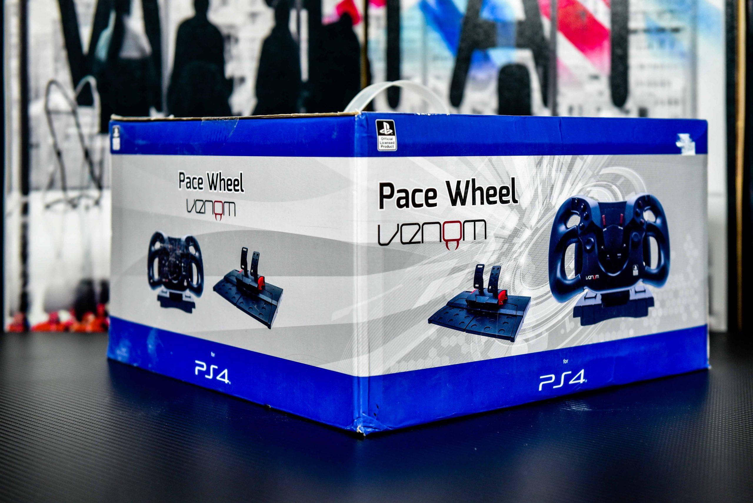 Venom Pace Wheel for PS4 in Qatar