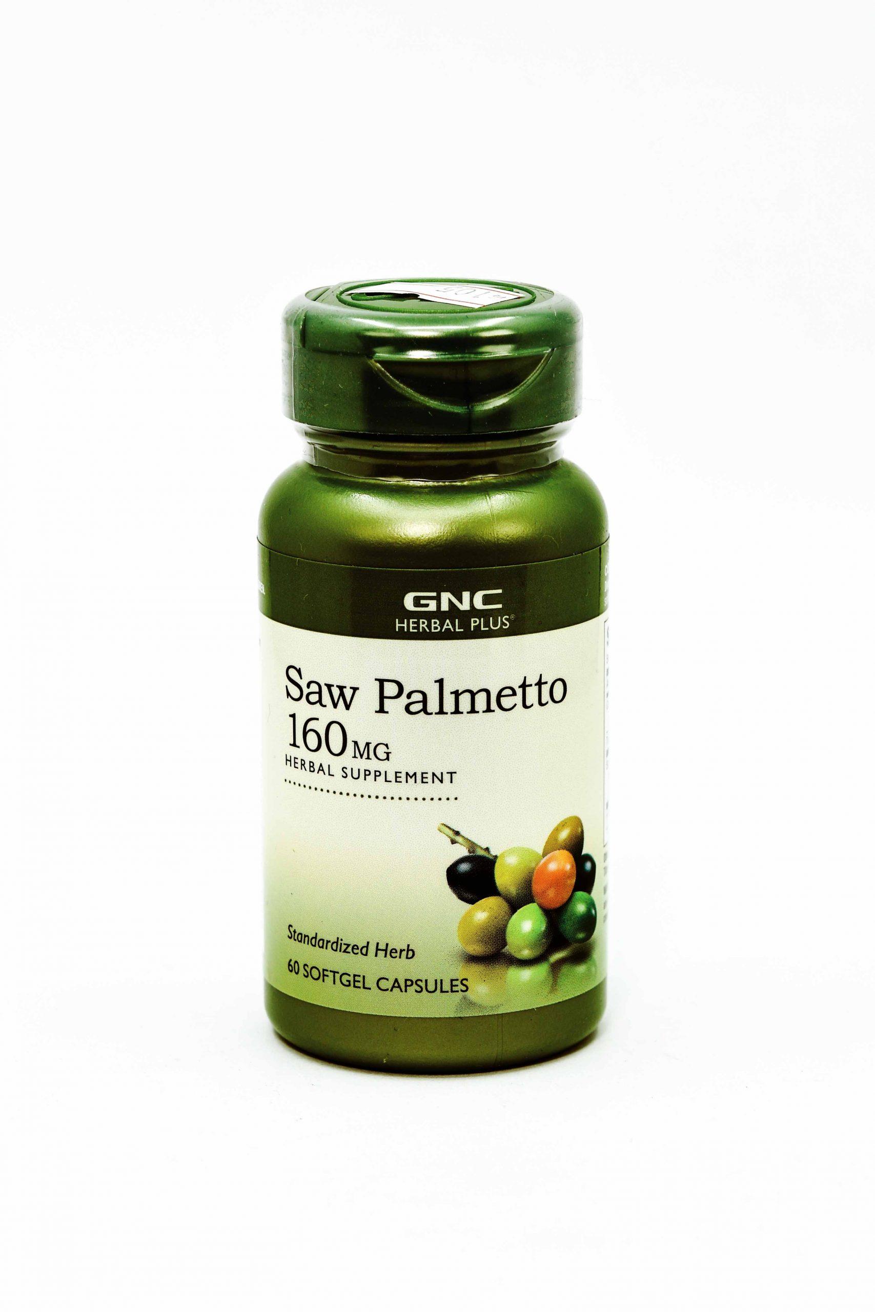 GNC Saw Palmetto