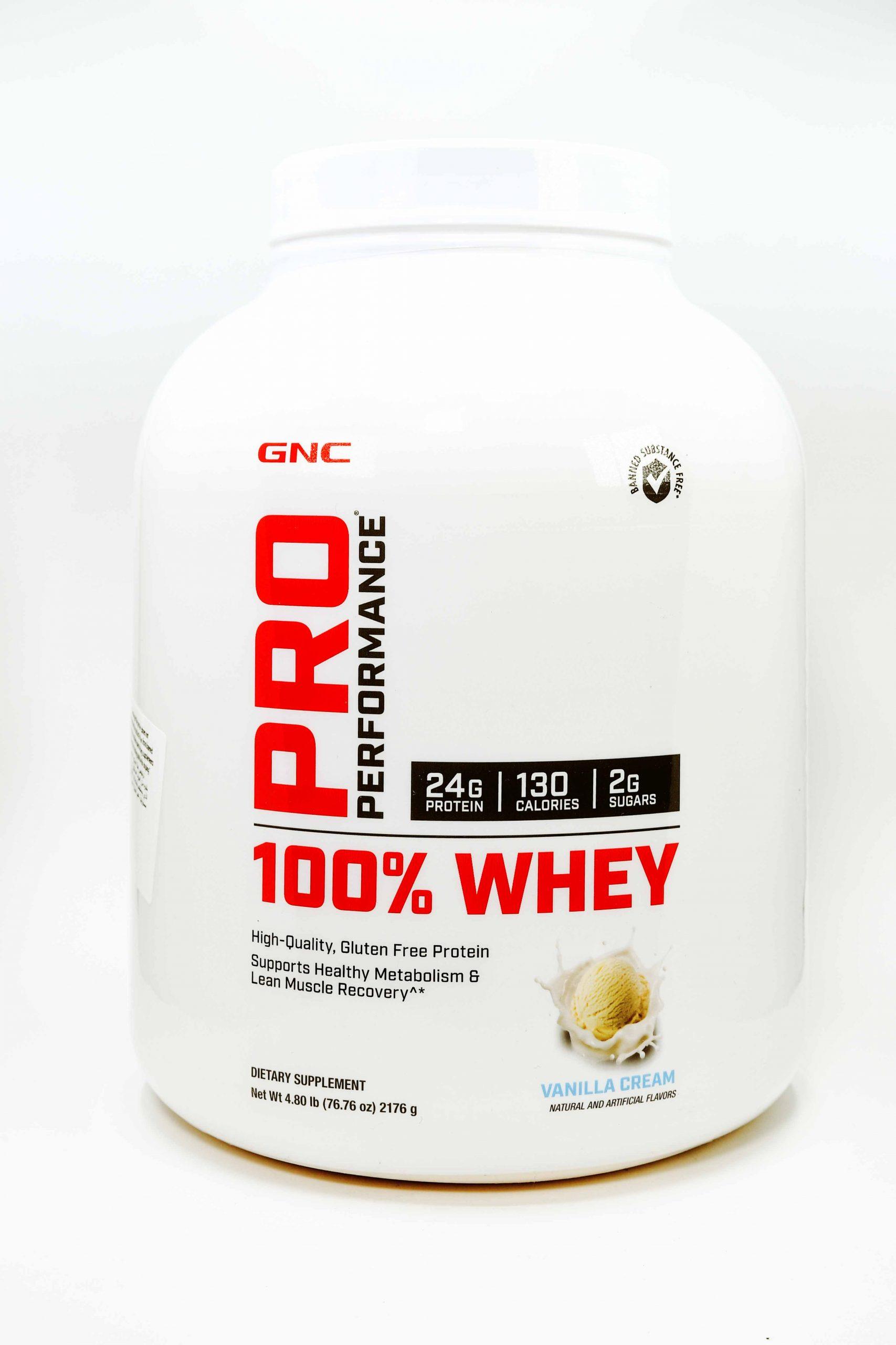 GNC PRO PERFORMANCE WHEY Protein Vanilla Cream