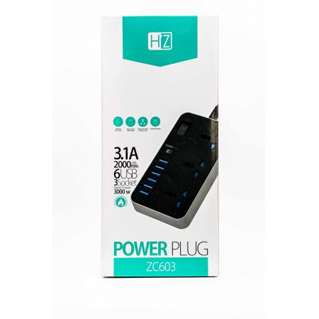 HZ Power Extension with USB