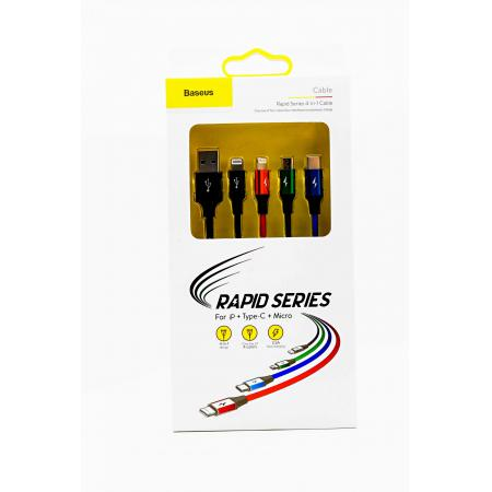 Baseus Cable Rapid Series 4 in1 Cable