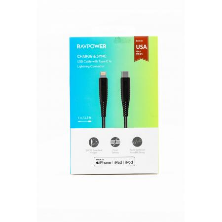 RAVPOWER TYPE C to Lighting Cable 1m