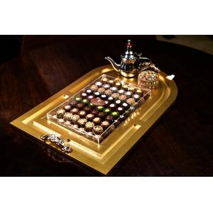 Dolci Sera's Serving Chocolate Tray with Coffee Pot