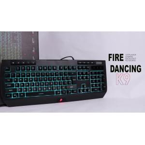 FIRE DANCING 1st Player Gaming Backlight Keyboard