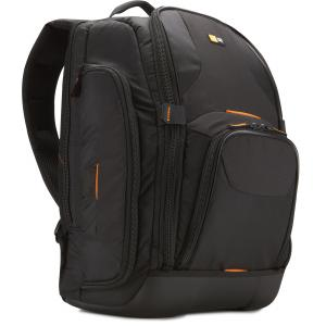 Black CASE LOGIC SLR CAMERA/LAPTOP BACKPACK
